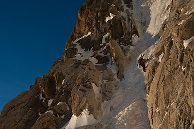 Mont Maudit, Overcouloir