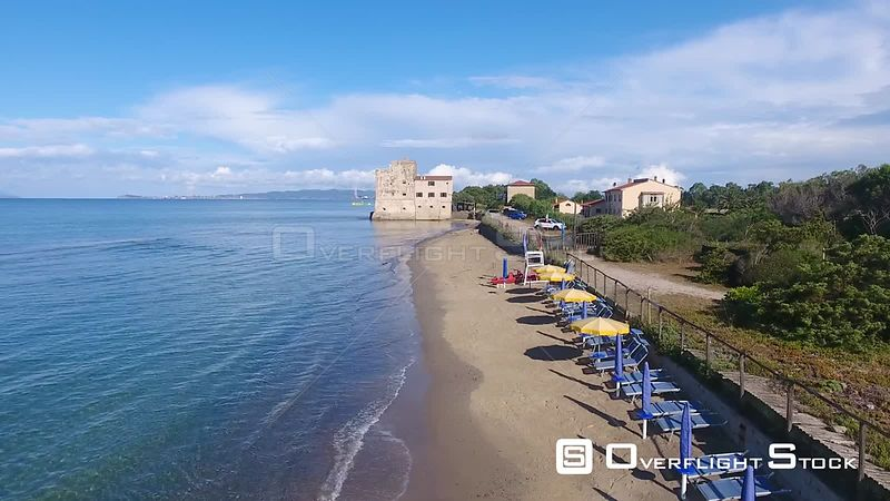 Tuscany Beach Italy Dorne Video