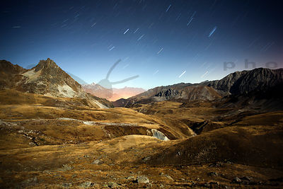 Startrails & French Alps in Savoie