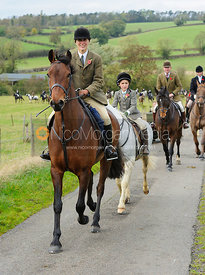 Sara Hercock - The Cottesmore Hunt at Somerby, 2-11-13
