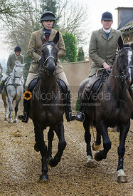 The Cottesmore Hunt at Parva Lodge 19/1