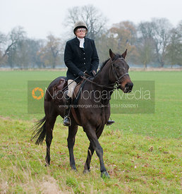 The South Wold Hunt visit the Cottesmore Country.
