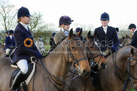 Followers at the meet - The Belvoir Hunt at Waltham House