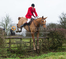 Nicholas Leeming MFH - Cottesmore Hunt at Deane Bank Farm 4/12/12
