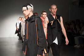 London Fashion Week Mens - Tourne de Transmission.