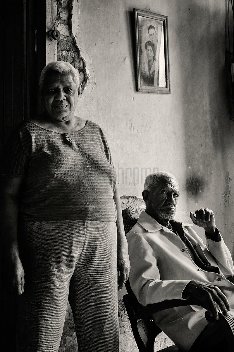 Portrait of a Brother and Sister in their Home