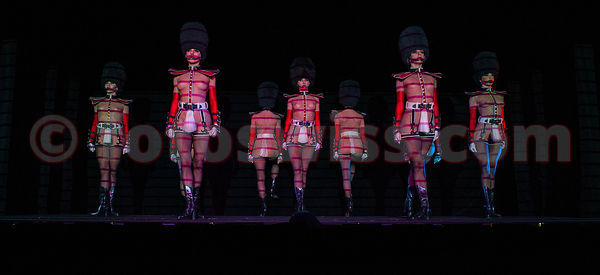 The Crazy Horse Show at Badrutt's Palace Hotel in St.Moritz