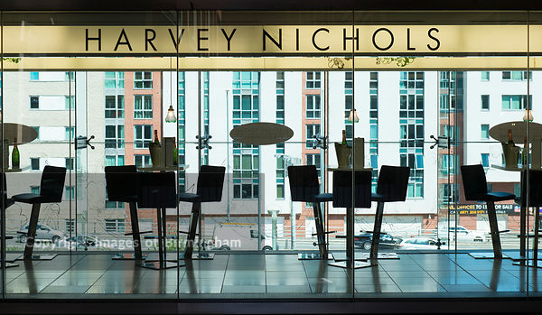 Harvey Nichols cafe at The Mailbox, Birmingham