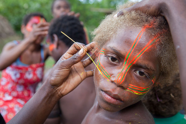 Circumcision ceremony in Vanuatu photos