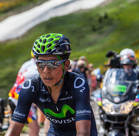 The Cyclist Nairo Alexander Quintana Rojas - Tour de France 2013
