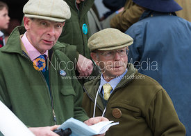 William Bevin and Brian Crawford - The Quorn at Garthorpe 21st April 2013.
