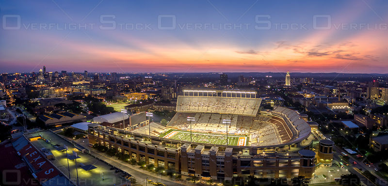 Longhorns Texas Memorial Stadium Austin Texas USA