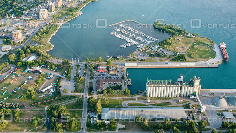 Sarnia Bay Marina and Shipping Ontario Canada