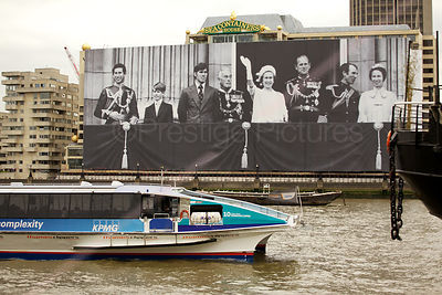 Giant Photograph on Sea Containers House in London