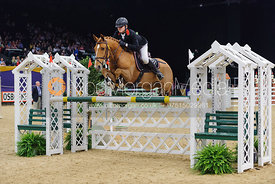 Zak Beesley and Park Avenue II, Horse of the Year Show 2010