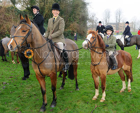 Lisa Ashmore - The Cottesmore Hunt's Boxing Day meet 2013.