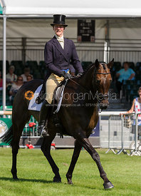 Beanie Sturgis and LEBOWSKI - dressage phase,  Land Rover Burghley Horse Trials, 5th September 2013.
