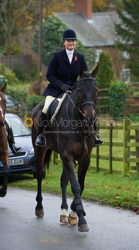 Jane Hubbard - The Cottesmore Hunt at Tilton on the Hill 10/11/12