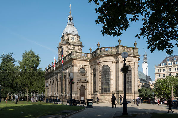 St Philips Cathedral, Colmore Row, Birmingham
