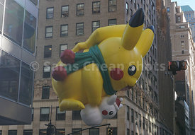 Macy's Thanksgiving Day Parade Balloons, NYC 2017