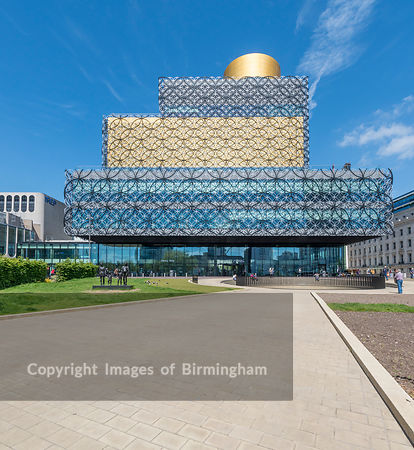 The new Library of Birmingham.