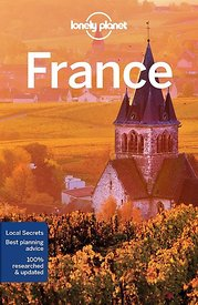 Cover Lonely Planet France 2017 guidebook