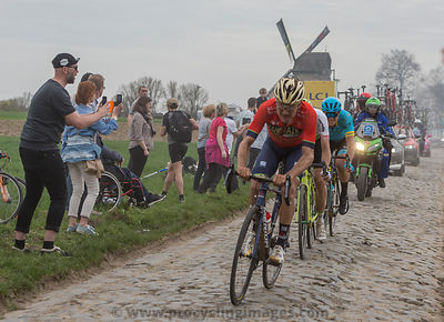 Group of Cyclists - Paris-Roubaix 2018