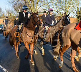 Roxanne Daley - Boxing Day Meet of the Cottesmore Hunt, Oakham 26/12