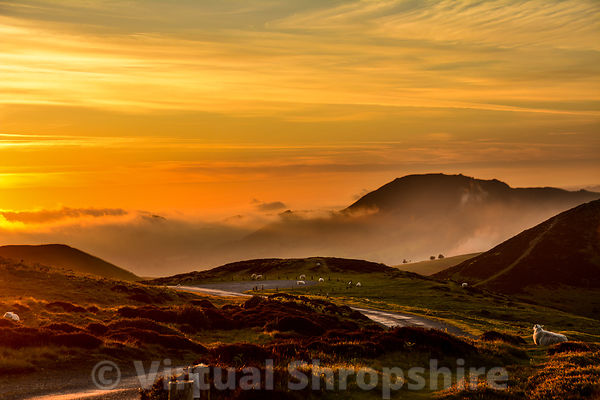 Shropshire Sunsets and Sunrises photos