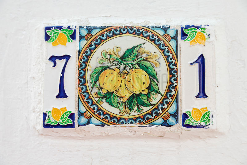 Aeolian Islands House Number