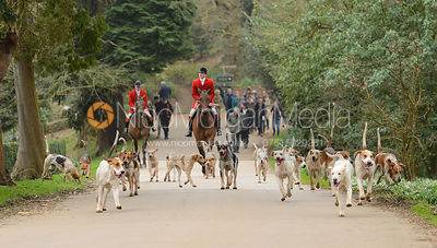 The South Shropshire Hunt at Belvoir Castle 11/3 photos