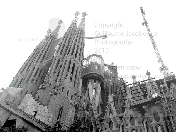 Sagrada Familia Art Photographs