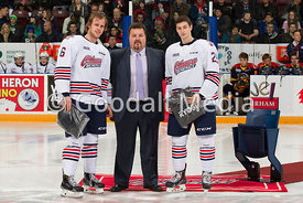 Oshawa Generals against the Erie Otters on December 7, 2014