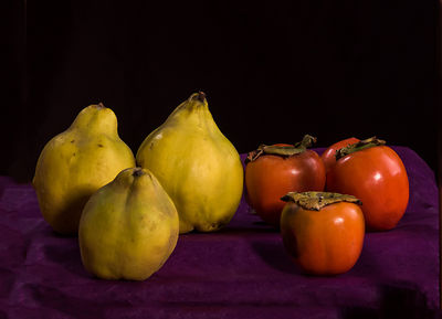 Family Heirloom Portrait: Quince and Persimmons