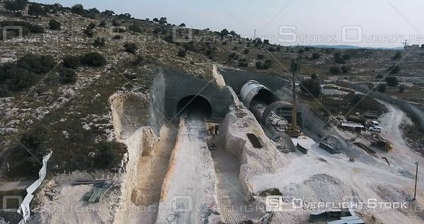 Construction of a Highway Tunnel Israel