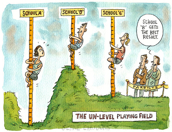 Un-level Playing Field