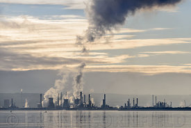 Grangemouth petrochemical plant