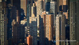 Aerial New York Buildings
