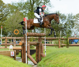 Lucy Jackson and WILLY DO - Cross Country phase, Mitsubishi Motors Badminton Horse Trials 2014