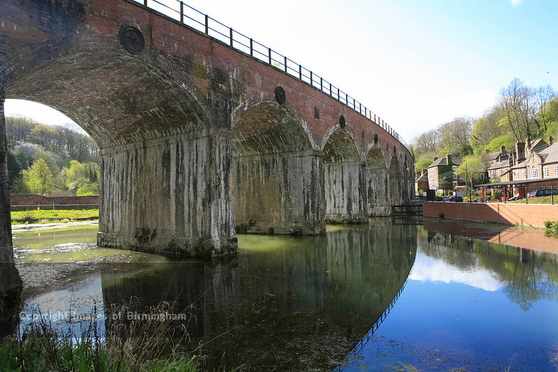 Coalbrookdale Watercourses in Telford, Shropshire, UK, England