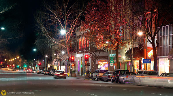 Downtown Chico at Night  #6