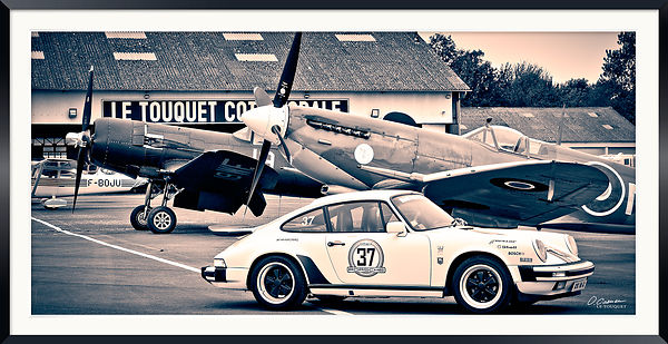 Corsair Spitfire and Porsche