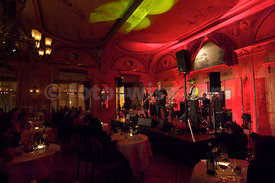 Endo Anaconda mit Band Stiller Has im Hotel Kronenhof Voices on Top in Pontresina
