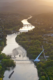 Sundial Bridge From the Air #15