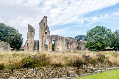 Glastonbury Abbey, Main Church- Glastonbury, England