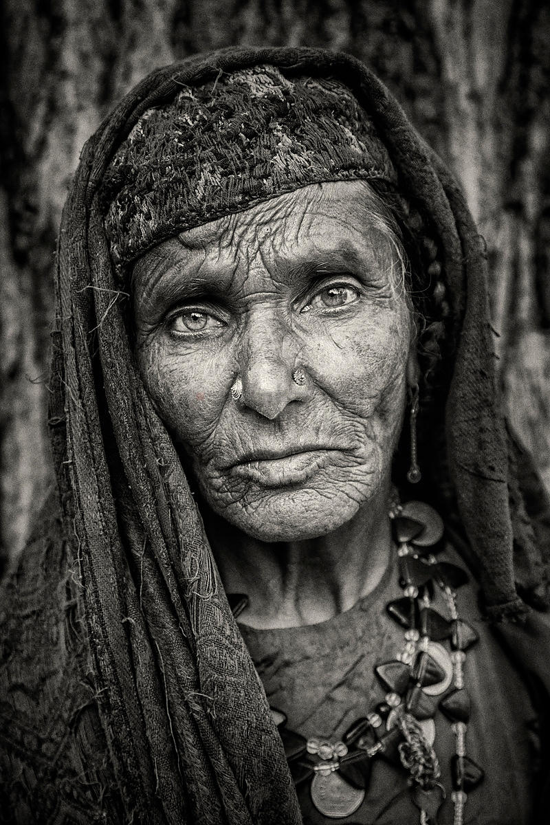Portrait of a Gujjar Woman