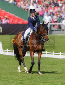 Michael Jung and LEOPIN FST - Dressage - Mitsubishi Motors Badminton Horse Trials 2013.
