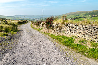 Gravel Road- Dingle Peninsula, Ireland