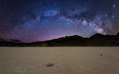 Milky Way Rising Over Racetrack Playa