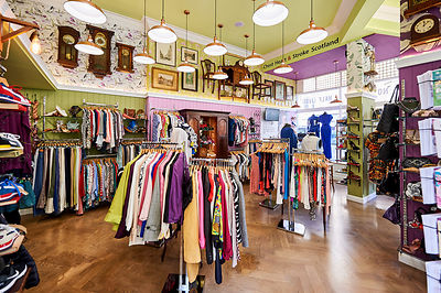 Interior exterior clothes shop photographer